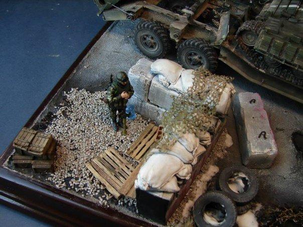 Магический реализм игрушечных солдатиков: в Одессе воспроизвели АТО в диораме (ФОТО) (фото) - фото 1