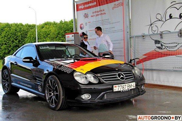 Фоторепортаж: самые редкие и мощные автомобили Гродно собрали в одном месте для съемок ролика (фото) - фото 3