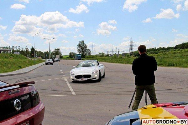 Фоторепортаж: самые редкие и мощные автомобили Гродно собрали в одном месте для съемок ролика (фото) - фото 23