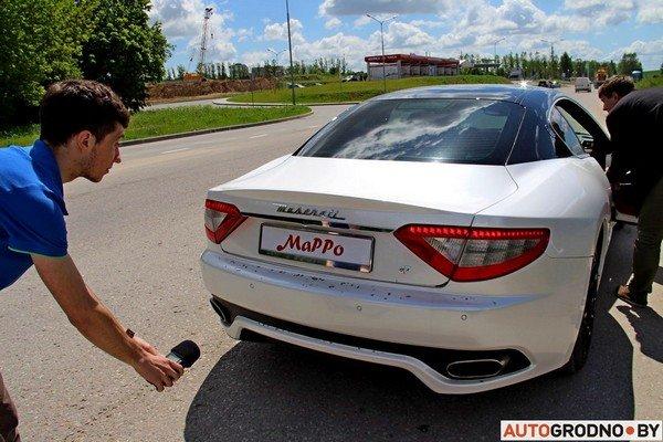 Фоторепортаж: самые редкие и мощные автомобили Гродно собрали в одном месте для съемок ролика (фото) - фото 9