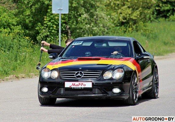 Фоторепортаж: самые редкие и мощные автомобили Гродно собрали в одном месте для съемок ролика (фото) - фото 18