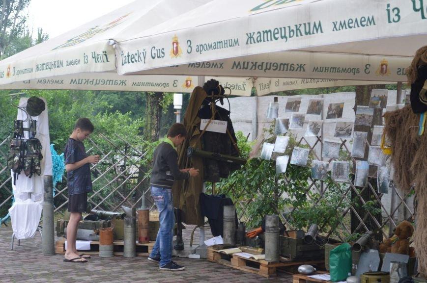 В Кривом Роге открылась благотворительная выставка «Запах войны» (ФОТО) (фото) - фото 1