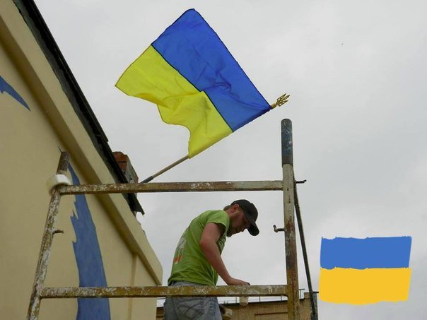 Граффити с изображением Тараса Шевченко закончено и торжественно открыто (ФОТО), фото-8