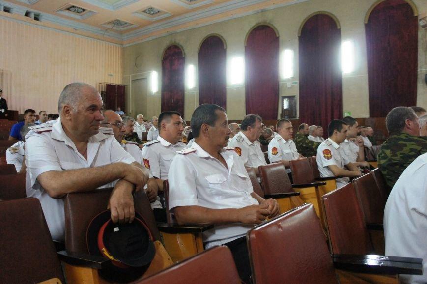 В Хадыженске состоялся большой Совет атаманов Майкопского казачьего отдела (фото) - фото 1