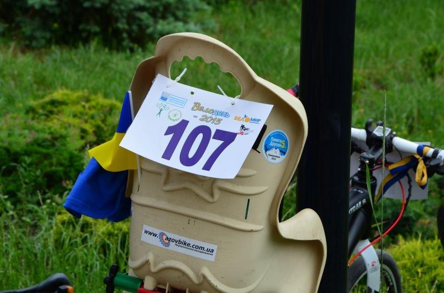 В Мариуполе велосипедисты создали живой флаг Украины (ФОТОРЕПОРТАЖ), фото-19