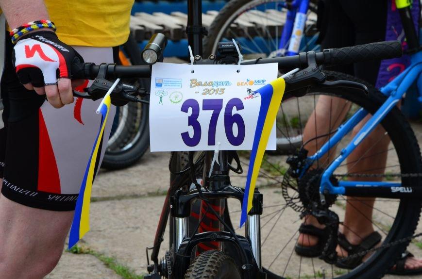 В Мариуполе велосипедисты создали живой флаг Украины (ФОТОРЕПОРТАЖ), фото-18