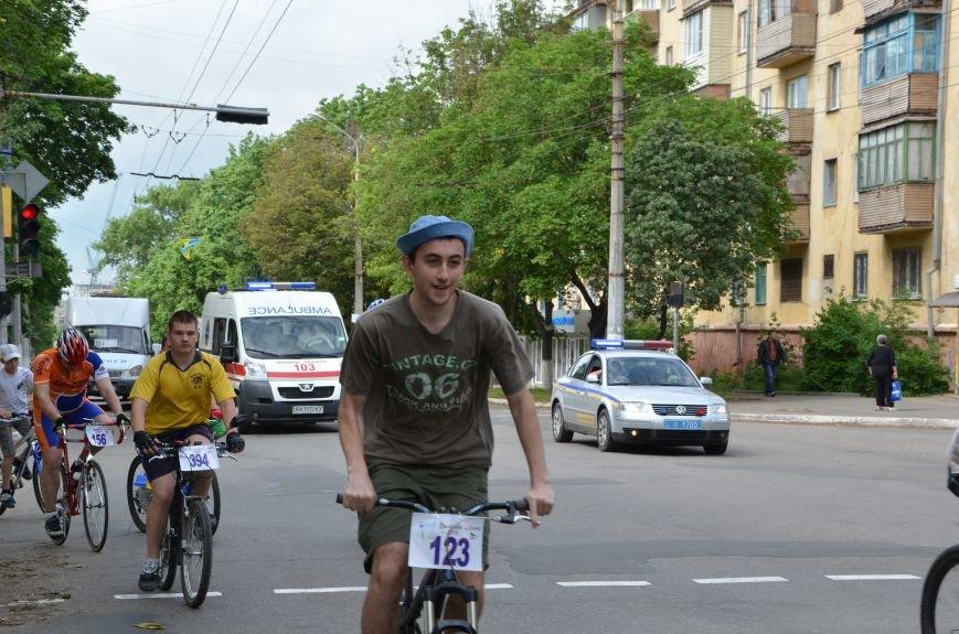 В Мариуполе велосипедисты создали живой флаг Украины (ФОТОРЕПОРТАЖ), фото-59