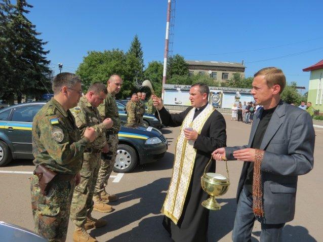 П'ятнадцять прикарпатських правоохоронців вирушили у зону АТО (ФОТО), фото-2