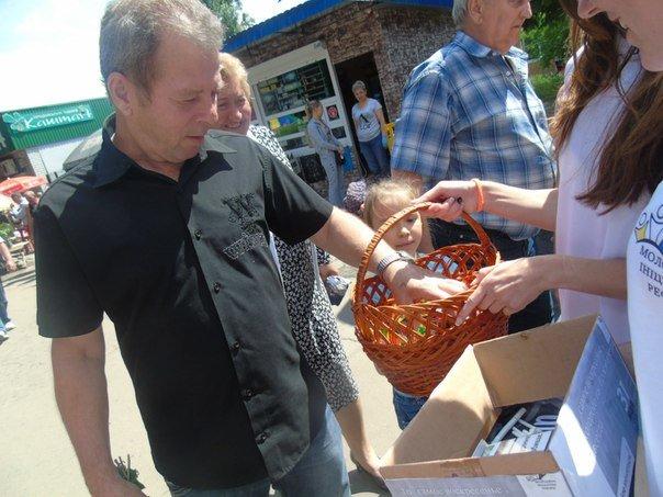 В Павлограде меняли сигареты на конфеты (фото) - фото 2