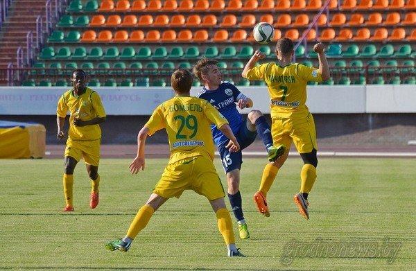 ФК «Неман» одержал первую победу, обыграв «Гранит» со счетом 2:0 (фото) - фото 1