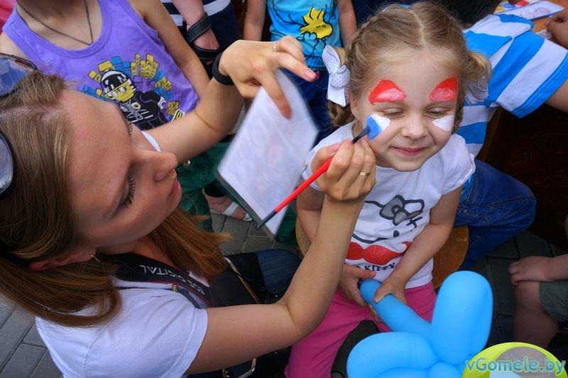 В Гомеле прошёл день красного носа (фото, видео), фото-4