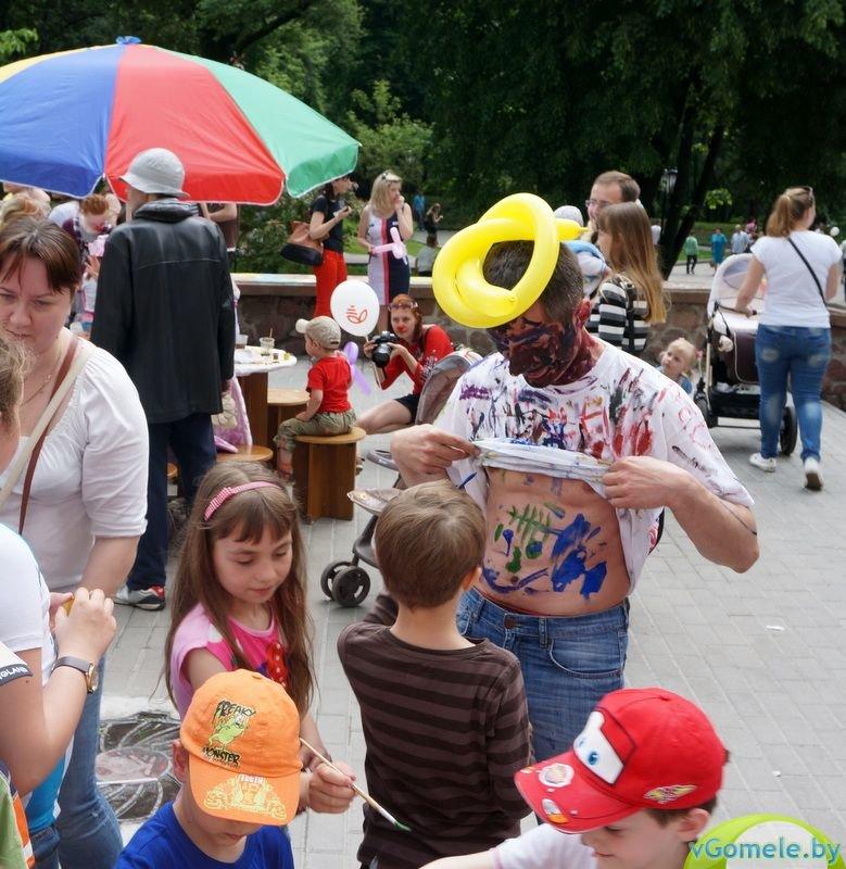 В Гомеле прошёл день красного носа (фото, видео), фото-9