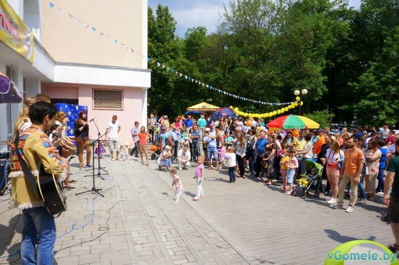 В Гомеле прошёл день красного носа (фото, видео), фото-2