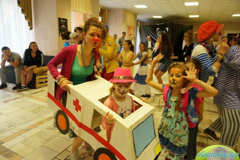 В Гомеле прошёл день красного носа (фото, видео), фото-13