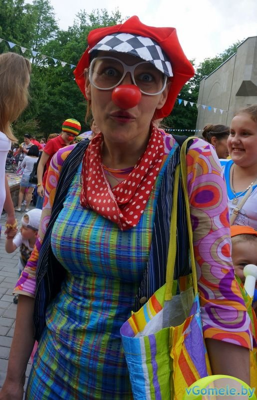 В Гомеле прошёл день красного носа (фото, видео), фото-10