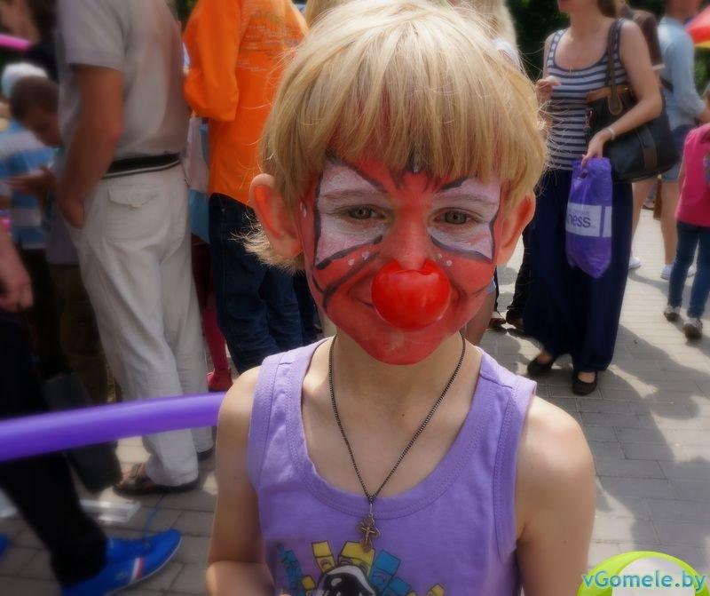 В Гомеле прошёл день красного носа (фото, видео), фото-6