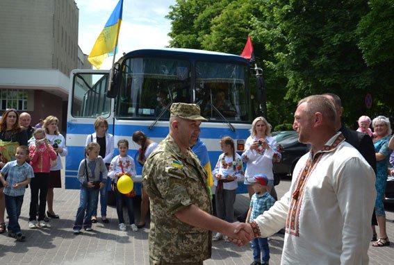 Львівські правоохоронці повернулися із передової (ФОТО) (фото) - фото 1