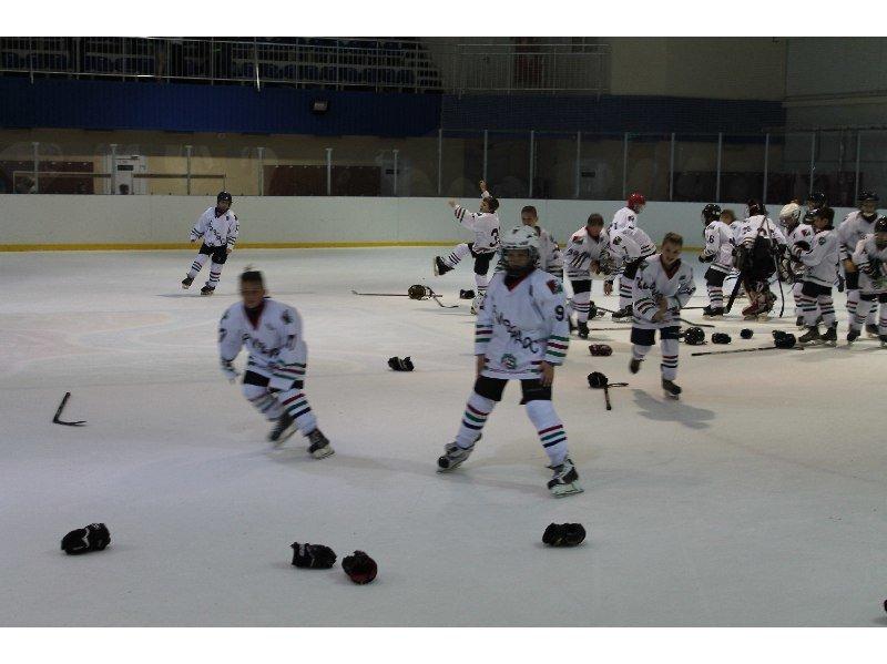 Юные спортсмены «Кривбасс-2004» стали победителями Кубка Федерации хоккея Днепропетровска (ФОТО), фото-6