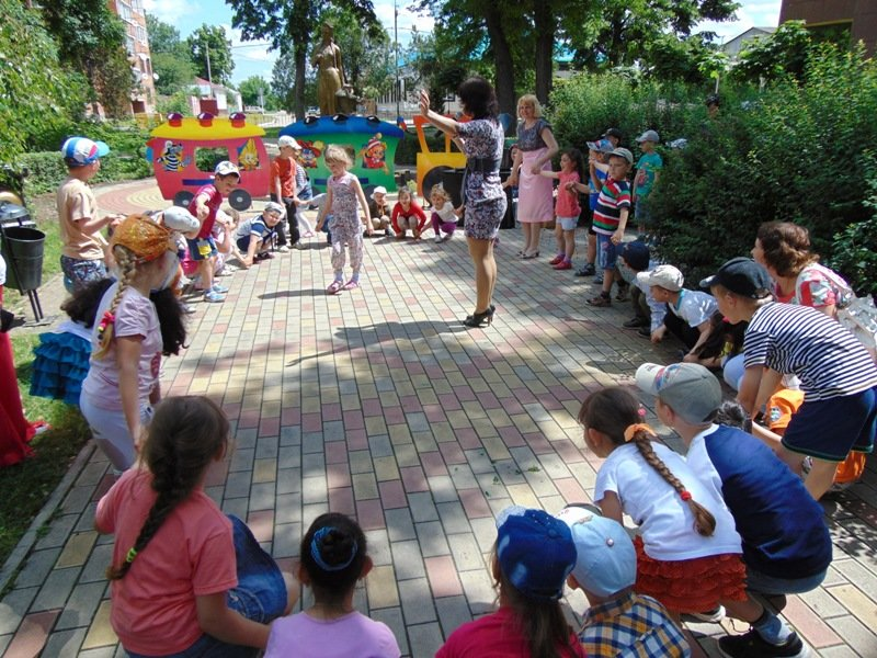 В лабинкой детской библиотеке отметили День защиты детей (фото) - фото 1