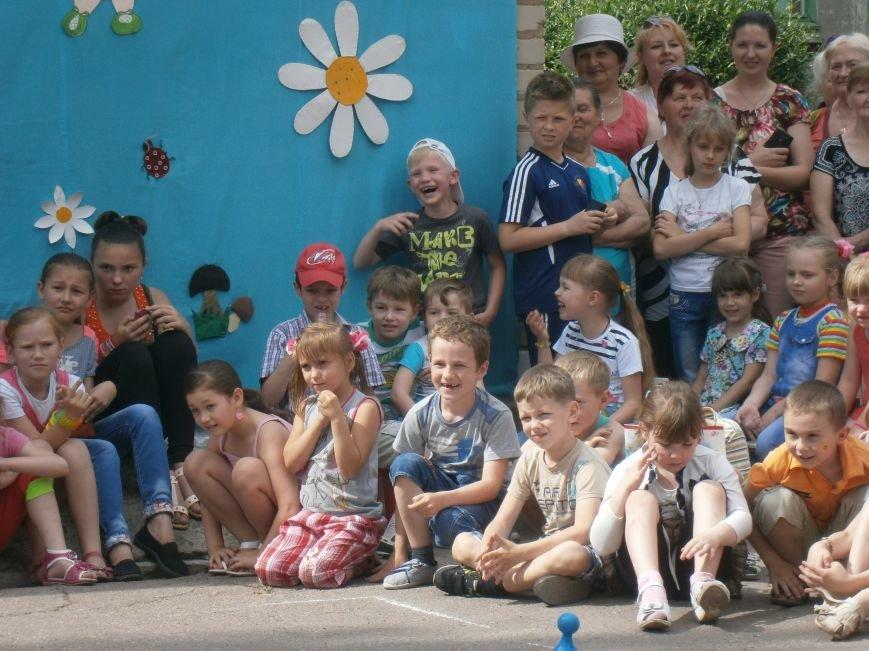 Коллектив Димитровской «Бригантины» поздравил детей с 1 июня (фото) - фото 14