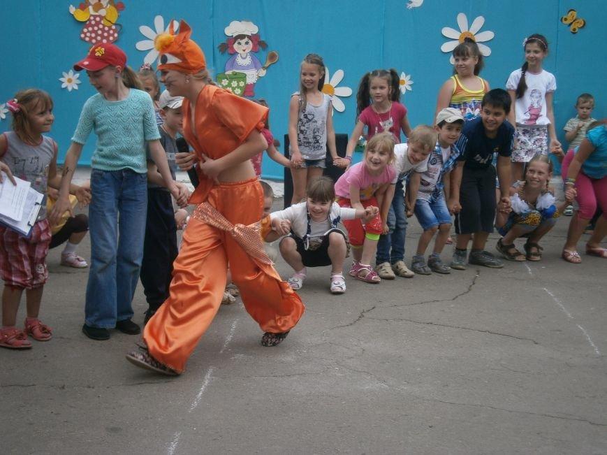 Коллектив Димитровской «Бригантины» поздравил детей с 1 июня (фото) - фото 9