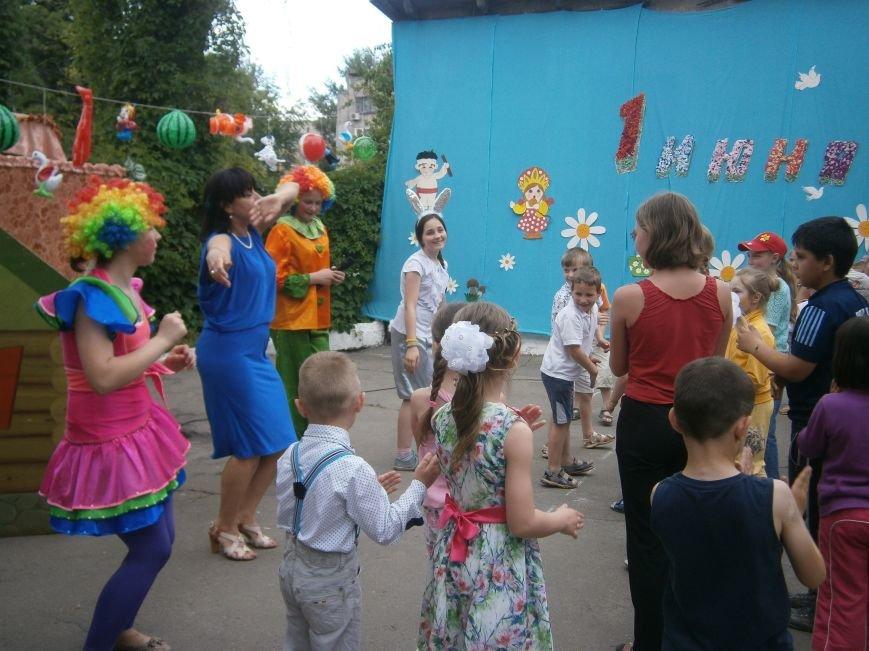 Коллектив Димитровской «Бригантины» поздравил детей с 1 июня (фото) - фото 11