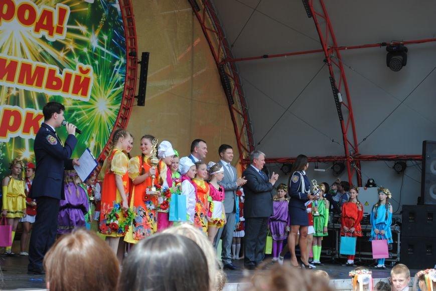 Харьковчане превратили аллею парка Горького в один огромный рисунок (ФОТО), фото-7