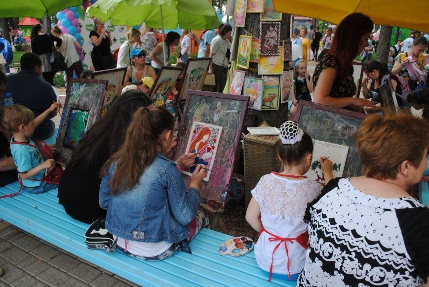 Харьковчане превратили аллею парка Горького в один огромный рисунок (ФОТО), фото-12