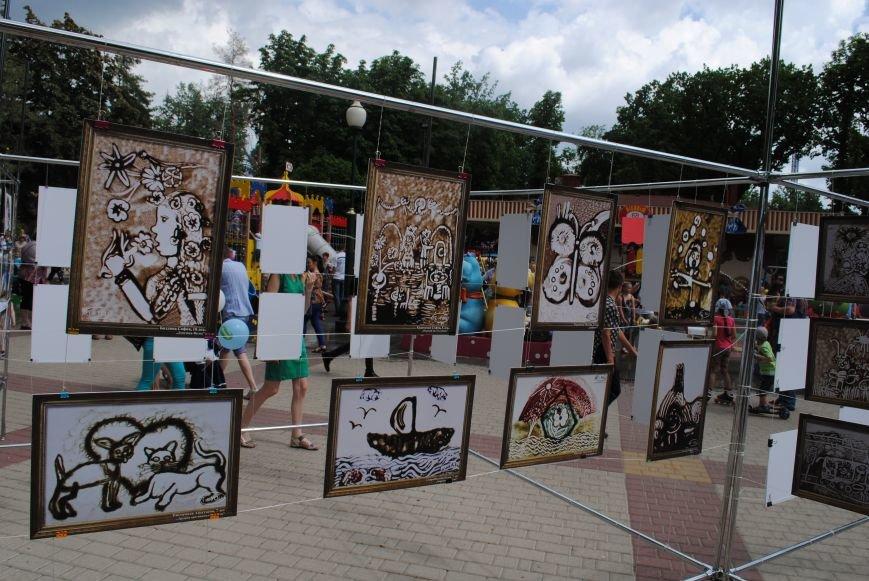 Харьковчане превратили аллею парка Горького в один огромный рисунок (ФОТО), фото-10