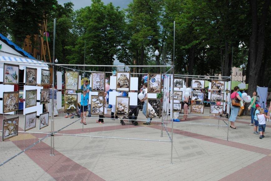 Харьковчане превратили аллею парка Горького в один огромный рисунок (ФОТО), фото-11