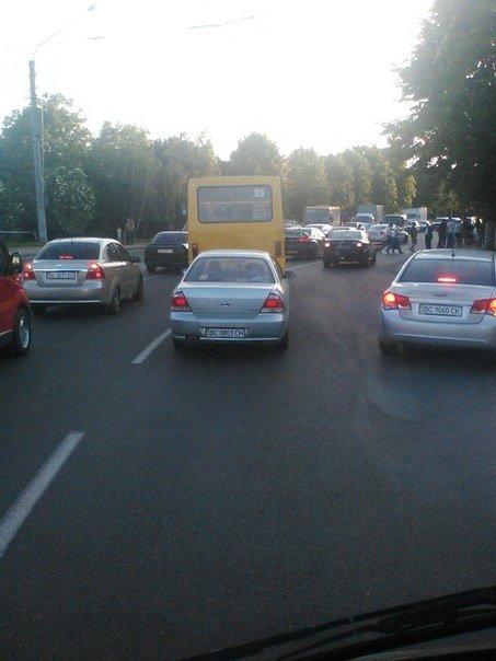 У Львові на пішохідному переході збили дівчину (ФОТО) (фото) - фото 1