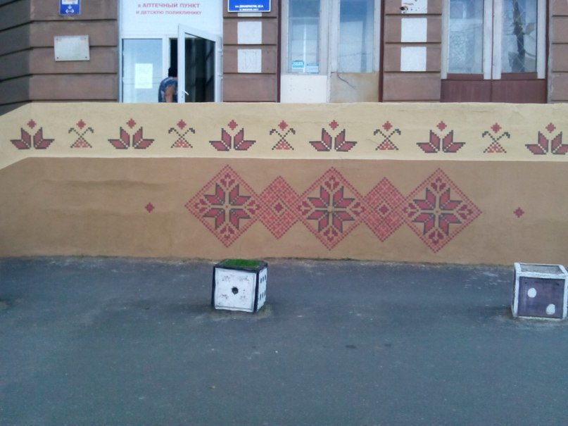 Николаевские патриоты одели в вышиванку детскую поликлинику (ФОТО) (фото) - фото 4