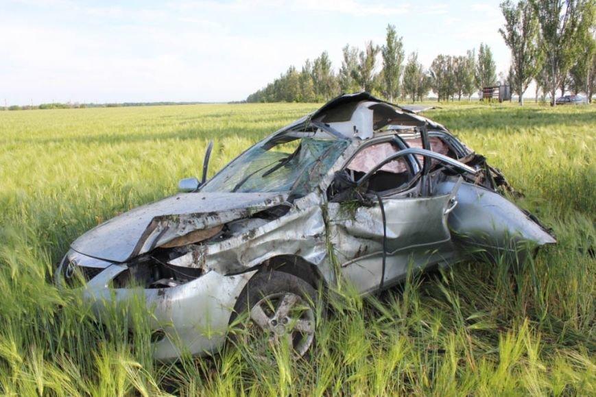 Смертельная авария под Запорожьем: «Мазда» на огромной скорости вылетела в кювет (ФОТО), фото-2