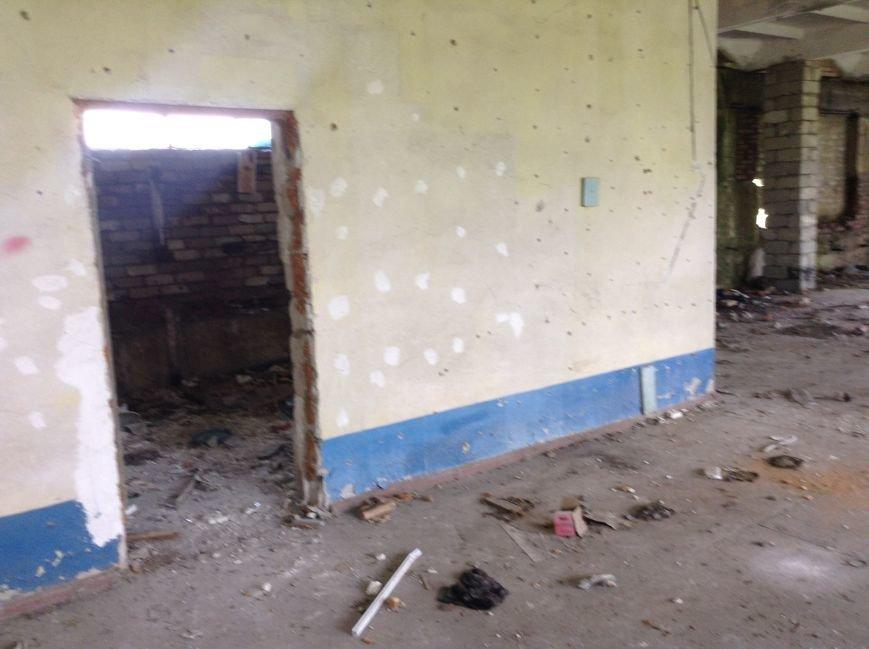 Запорожских бойцов территориальной обороны переселяют в развалины (ФОТО), фото-5