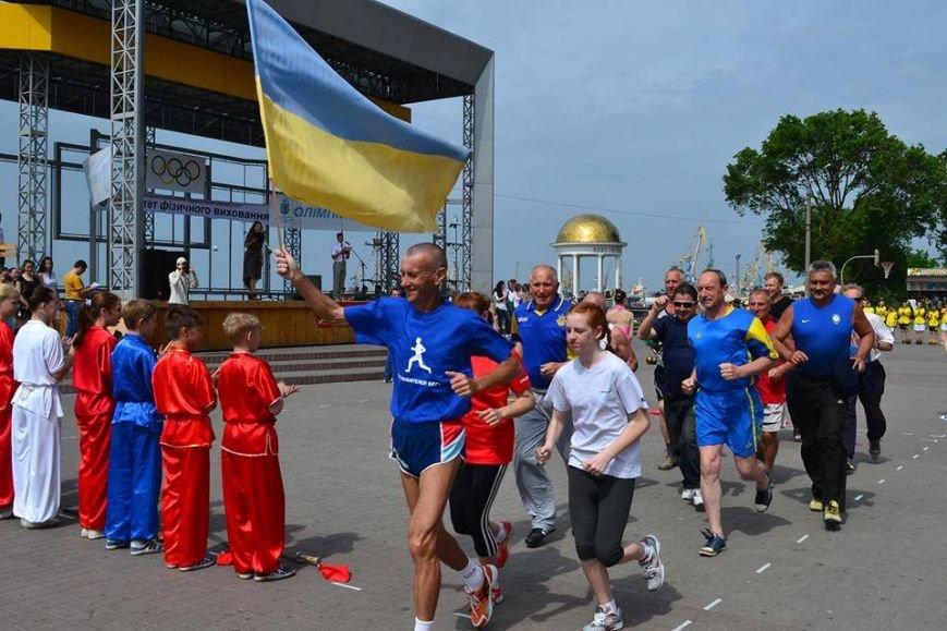 В Бердянске состоялся Олимпийский день, фото-3