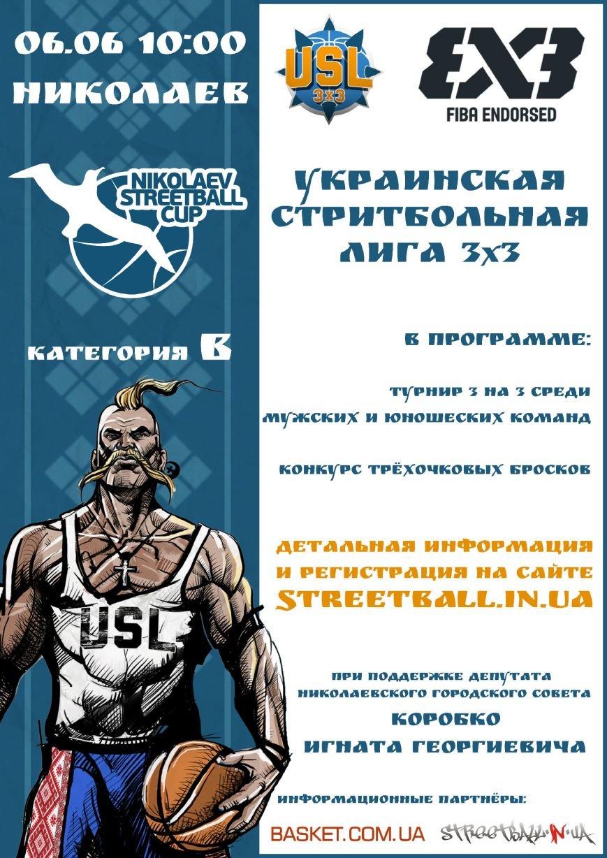 Лучшие стритболисты Николаева соберутся на турнир (фото) - фото 1