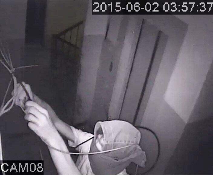 В Запорожье кабельного вора засняла камена видеонаблюдения (ФОТО), фото-3