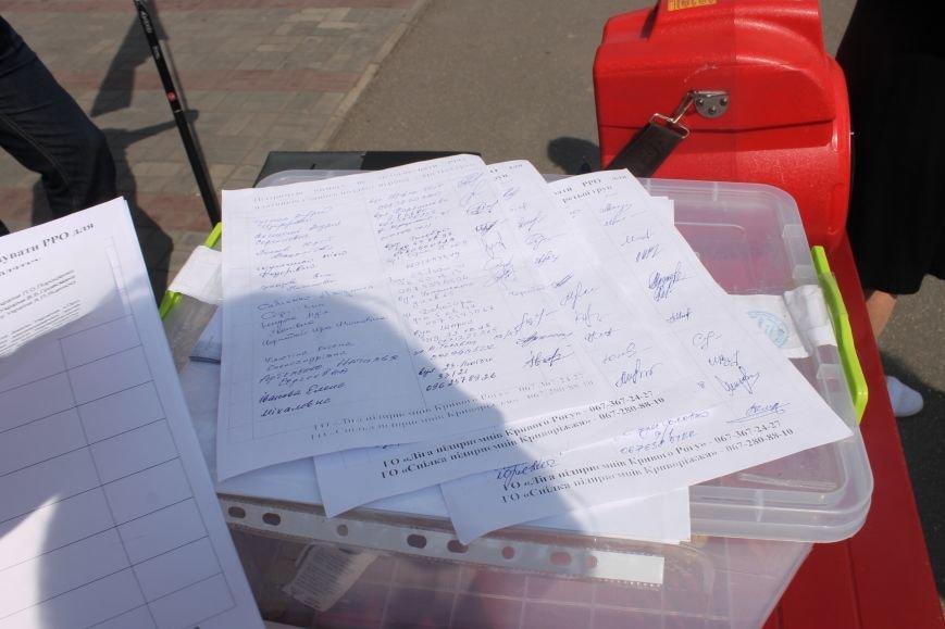 Предприниматели Кривого Рога протестуют против принудительного перевода на кассовый аппарат (ФОТО), фото-9