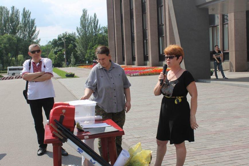 Предприниматели Кривого Рога протестуют против принудительного перевода на кассовый аппарат (ФОТО), фото-1