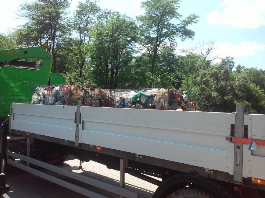 В Симферополе приступили к очистке Салгира. Мусор вывозят грузовиками (ФОТО, ВИДЕО), фото-3