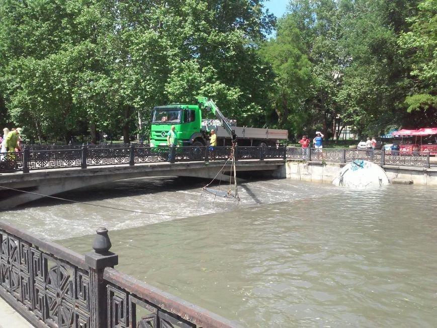 В Симферополе приступили к очистке Салгира. Мусор вывозят грузовиками (ФОТО, ВИДЕО), фото-2