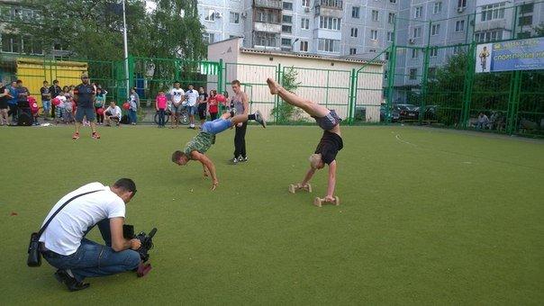 Белореченском районе начали работать летние дворовые площадки (фото) - фото 1