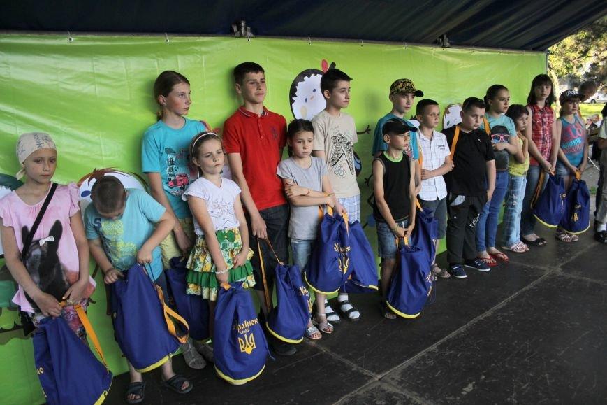 В Запорожье провели социальную акцию для детей бойцов (фото) - фото 1