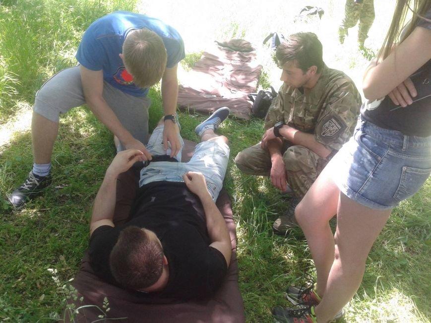 В Днепропетровске рассказали, как оказывать помощь в городских условиях (фото) - фото 1