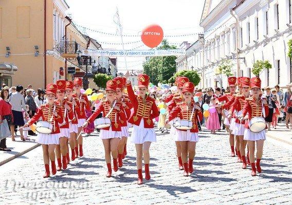 В Гродно отметили День защиты детей (фото) - фото 1