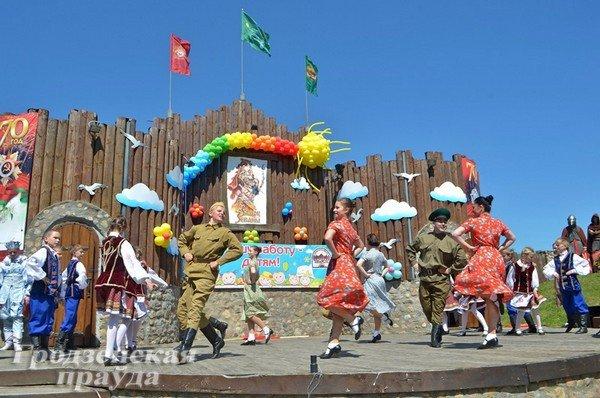 В Гродно отметили День защиты детей (фото) - фото 12