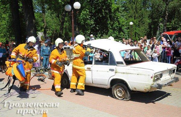 В Гродно отметили День защиты детей (фото) - фото 4