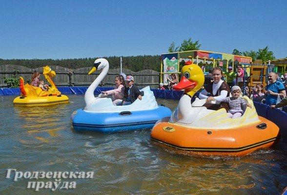 В Гродно отметили День защиты детей (фото) - фото 10