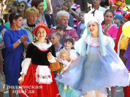 В Гродно отметили День защиты детей (фото) - фото 6
