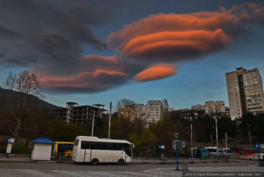 Крым «охраняет» облачный медведь (ФОТОФАКТ) (фото) - фото 3